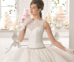 wedding and gown image