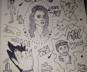 acid, doodle, and drawings image