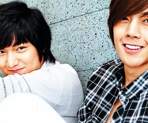 kim hyun joong, lee min ho, and korean image