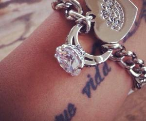 tattoo, bracelet, and ring image