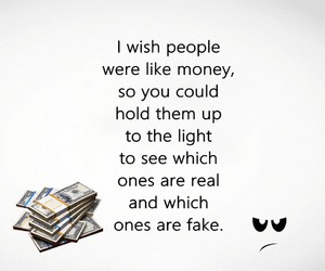 fake, money, and people image