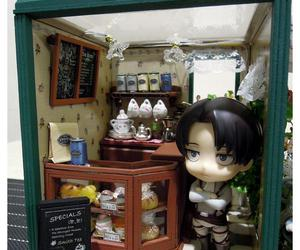 tea house and attack on titan image