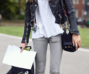 boots, jacket, and fashion image