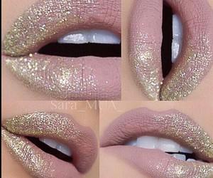 lips, make up, and makeup image