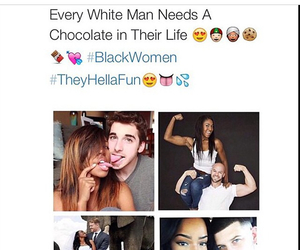 black and white, interracial, and cuteness image