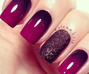 design, magenta, and nails image