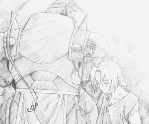 Brotherhood, journey, and fullmetal alchemist image