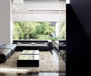 architecture, luxury, and black image