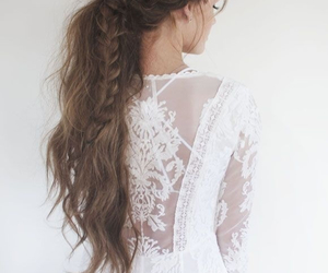 braid, design, and messy image