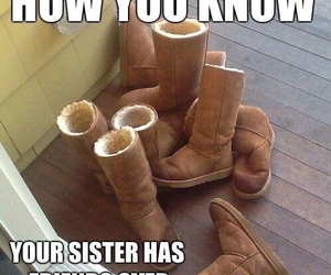 funny, uggs, and friends image
