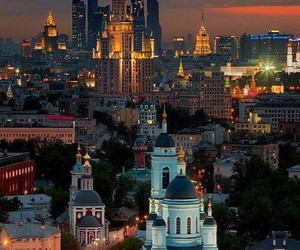 russia, city, and moscow image