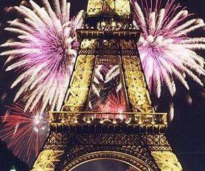 paris, fireworks, and beautiful image