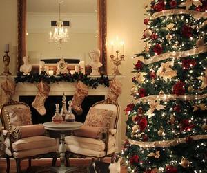christmas, winter, and tree image