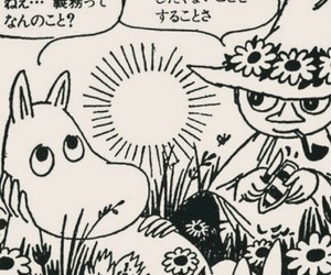 anime, japanese, and moomin image