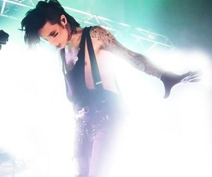 andy biersack, andy sixx, and black veil brides image