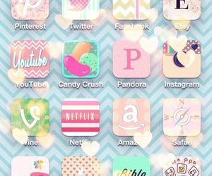 app, icons, and iphone image