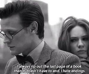 doctor who, book, and quote image