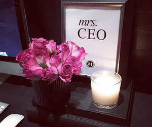 flowers, pink, and ceo image