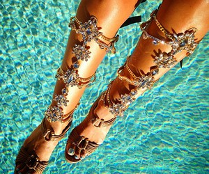 summer, shoes, and luxury image
