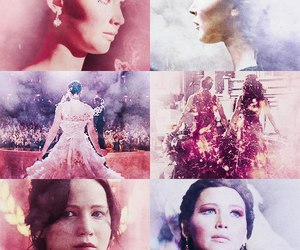 katniss everdeen, thg, and the hunger games image