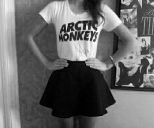 arctic monkeys, grunge, and skirt image