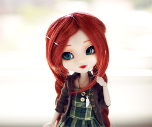 doll, fashion, and hair image