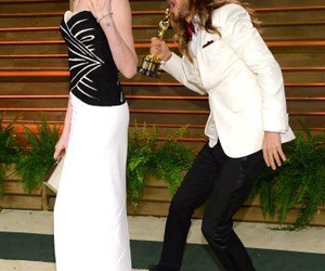 Anne Hathaway and jared leto image
