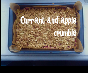 apple, bakery, and crumble image