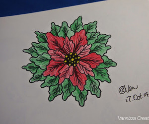 christmas, doodle, and drawing image