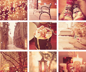 coffe, winter, and decoration image