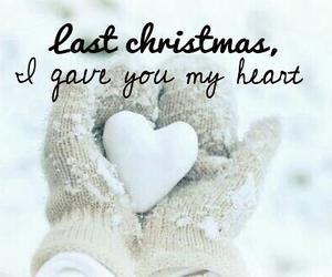 christmas, heart, and love image