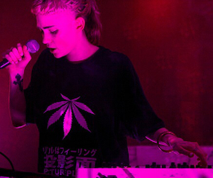 grimes, singer, and clair boucher image