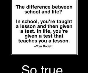 life, school, and lesson image