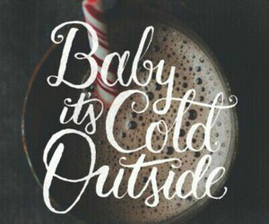 cold, winter, and christmas image