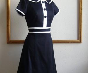 dress, nautical, and vintage image