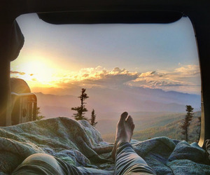 adventure, nature, and sleep image