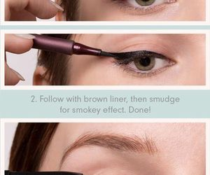 beauty, make-up, and tutorials image