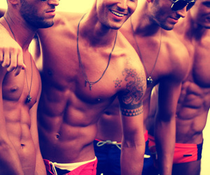 boys, Hot, and smile image