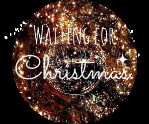 christmas and waiting image