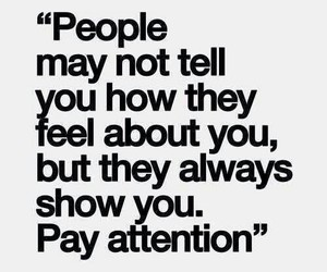 quotes, people, and attention image
