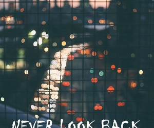 back and never image