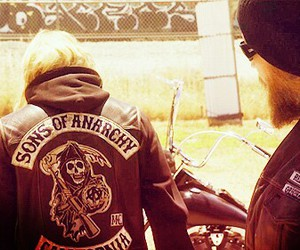 sons of anarchy, jax teller, and opie winston image