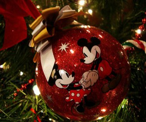 christmas, mickey mouse, and disney image