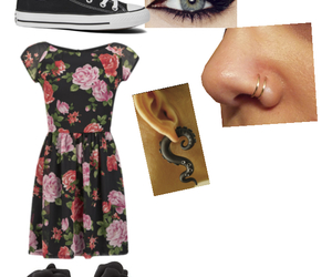 clothes, converse, and dress image