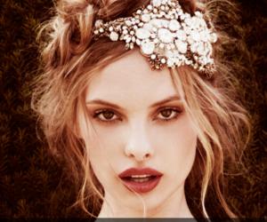 blonde, hairband, and headband image