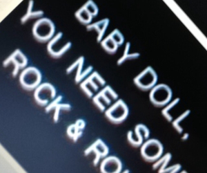 baby, rock and roll, and tumblr image