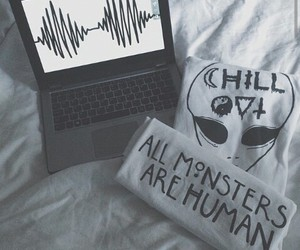 arctic monkeys, chill, and ahs image