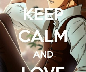 anime, love, and heart image