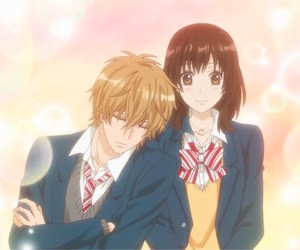 anime, love, and ookami shoujo image