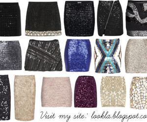 sequin, skirts, and faldas image